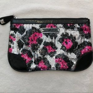 Betsey Johnson sequined clutch